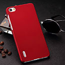 Coque Huawei Honor 6 Plastique Etui Rigide - Rouge