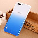 Coque Huawei Honor 6 Plus Degrade Etui Rigide - Bleu