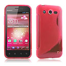Coque Huawei Honor U8860 S-Line Silicone Gel Housse - Rouge