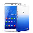 Coque Huawei Mediapad X1 Degrade Etui Rigide - Bleu