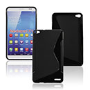 Coque Huawei Mediapad X1 S-Line Silicone Gel Housse - Noire