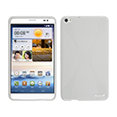Coque Huawei Mediapad X1 X-Style Silicone Gel Housse - Blanche
