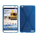 Coque Huawei Mediapad X1 X-Style Silicone Gel Housse - Bleu