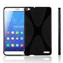 Coque Huawei Mediapad X1 X-Style Silicone Gel Housse - Noire