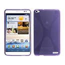 Coque Huawei Mediapad X1 X-Style Silicone Gel Housse - Pourpre