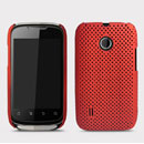 Coque Huawei Sonic U8650 Filet Plastique Etui Rigide - Rouge