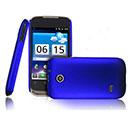 Coque Huawei Sonic U8650 Plastique Etui Rigide - Bleu