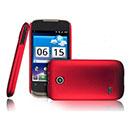 Coque Huawei Sonic U8650 Plastique Etui Rigide - Rouge