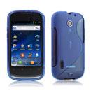 Coque Huawei Sonic U8650 S-Line Silicone Gel Housse - Bleu