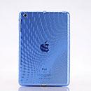 Coque LG Apple iPad Mini Dot Wave TPU Gel Housse - Bleu