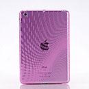 Coque LG Apple iPad Mini Dot Wave TPU Gel Housse - Rose