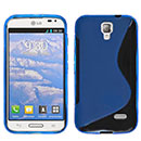Coque LG F70 D315 S-Line Silicone Gel Housse - Bleu
