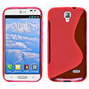 Coque LG F70 D315 S-Line Silicone Gel Housse - Rouge