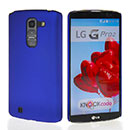 Coque LG G Pro 2 D838 F350 Plastique Etui Rigide - Bleu