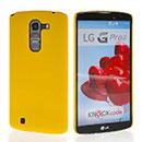 Coque LG G Pro 2 D838 F350 Plastique Etui Rigide - Jaune