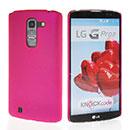 Coque LG G Pro 2 D838 F350 Plastique Etui Rigide - Rose Chaud