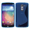 Coque LG G Pro 2 D838 F350 S-Line Silicone Gel Housse - Bleu