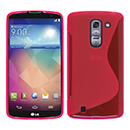 Coque LG G Pro 2 D838 F350 S-Line Silicone Gel Housse - Rose Chaud