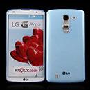 Coque LG G Pro 2 D838 F350 Silicone Transparent Housse - Bleue Ciel