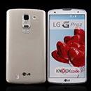 Coque LG G Pro 2 D838 F350 Silicone Transparent Housse - Gris