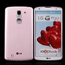 Coque LG G Pro 2 D838 F350 Silicone Transparent Housse - Rose