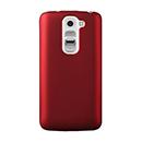 Coque LG G2 Mini LTE D620 Plastique Etui Rigide - Rouge