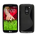 Coque LG G2 Mini LTE D620 S-Line Silicone Gel Housse - Noire
