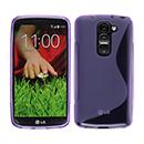 Coque LG G2 Mini LTE D620 S-Line Silicone Gel Housse - Pourpre