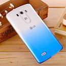 Coque LG G4 H815 F500 Degrade Etui Rigide - Bleu