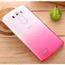 Coque LG G4 H815 F500 Degrade Etui Rigide - Rose Chaud