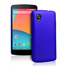 Coque LG Google Nexus 5 D820 D821 Plastique Etui Rigide - Bleu