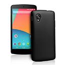 Coque LG Google Nexus 5 D820 D821 Plastique Etui Rigide - Noire
