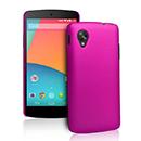 Coque LG Google Nexus 5 D820 D821 Plastique Etui Rigide - Rose Chaud