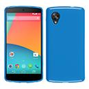Coque LG Google Nexus 5 D820 D821 Silicone Gel Housse - Bleu