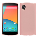 Coque LG Google Nexus 5 D820 D821 Silicone Gel Housse - Rose