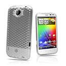 Coque LG HTC Sensation XL X315e G21 Diamant TPU Gel Housse - Claire