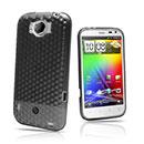 Coque LG HTC Sensation XL X315e G21 Diamant TPU Gel Housse - Gris