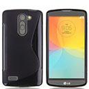 Coque LG L Bello D331 D335 S-Line Silicone Gel Housse - Noire