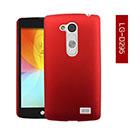 Coque LG L Fino D295 D290N Plastique Etui Rigide - Rouge