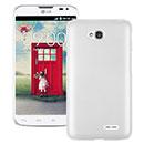 Coque LG L70 D325 Plastique Etui Rigide - Blanche