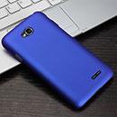 Coque LG L70 D325 Plastique Etui Rigide - Bleu
