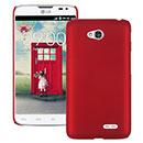 Coque LG L70 D325 Plastique Etui Rigide - Rouge