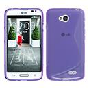 Coque LG L70 D325 S-Line Silicone Gel Housse - Pourpre