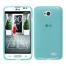 Coque LG L70 D325 Silicone Transparent Housse - Bleu