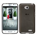 Coque LG L70 D325 Silicone Transparent Housse - Gris