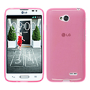 Coque LG L70 D325 Silicone Transparent Housse - Rose