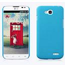 Coque LG L90 D410 Plastique Etui Rigide - Bleue Ciel