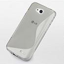 Coque LG L90 D410 S-Line Silicone Gel Housse - Gris