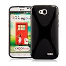 Coque LG L90 D410 X-Style Silicone Gel Housse - Noire