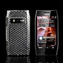 Coque LG Nokia X7 Diamant TPU Gel Housse - Blanche